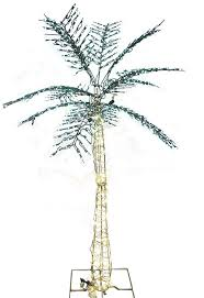6226 lighted palm tree