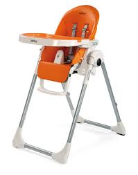 chaise haute b b peg perego trona prima pappa zero 3 peg pérego arancia tronas peg pérego