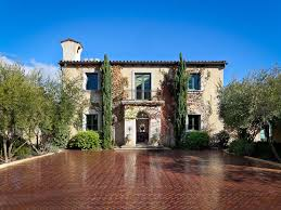 villa style homes tuscan style villa in montecito idesignarch interior design