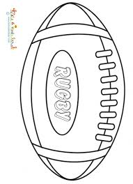 coloriage a imprimer rugby