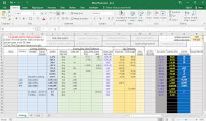 Excel Spreadsheet Development Interactive Brokers Excel Trader Trading Geeks