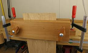 how to build a wood vise