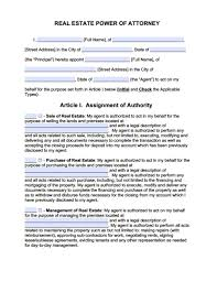 Sample Letter Special Power Of Attorney maryland revocation power of attorney form power of attorney