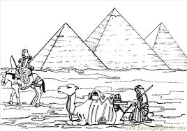 ancient egypt coloring page egyptian pyramids coloring page free egypt coloring pages