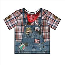 faux real f118762 faux real shirts toddler boys hillbilly 2t