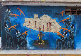 mexican poets give voice to the country s disappeared students a mural in the nearby town of tixtla shows the state of guerrero riddled with bullet