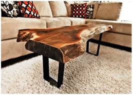 natural tree trunks coffee table guideline to make a coffee