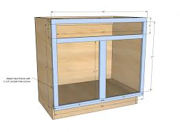 Kitchen Cabinet Drawer Construction Building Plywood Cabinets For Garage Cabinet Building Plans How To