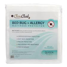 Mattress Bed Bug Cover Clara Clark Bed Bug Allergy Waterproof Mattress Protector