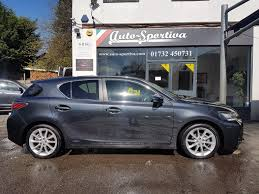 lexus ct200h se i used 2011 lexus ct 200h 200h se l 5dr full lexus history for sale