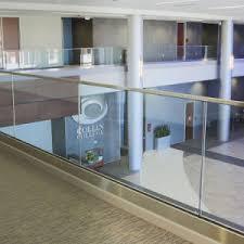 china free sample 2017 latest aluminum glass balcony railing