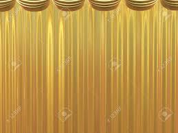 golden beautiful curtains beautiful background stock photo