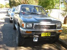 toyota old truck aussie old parked cars 1990 toyota hilux surf turbo ssr limited