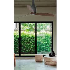 mat en bois eterfan ventilateur de plafond noir mat bois avec moteur dc u2013 faro