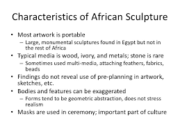 chapter 13 and 28 african art