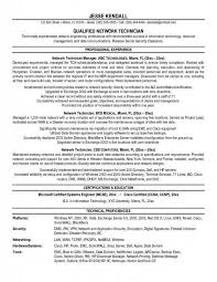Electronic Technician Resume Sample Cover Letter Technician Resume Sample Electronics Technician