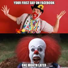 Evil Clown Memes - images of pin clown meme on fan