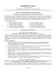 food and beverage manager resume sample within 15 outstanding