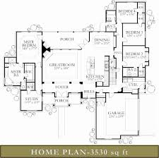 Houses With 2 Master Bedrooms 11 17 Best Ideas About 4000 Sq Ft House Plans On Pinterest With 2