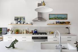 kitchen sheved 7 effective tips for integrating open kitchen shelving dwell