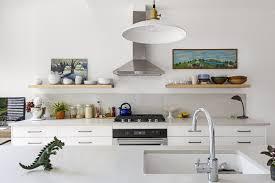 kitchen shelving 7 effective tips for integrating open kitchen shelving dwell