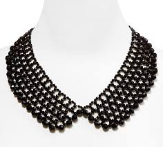black beaded collar necklace images 43 peterpan collar necklace floral peter pan collar necklace jpg