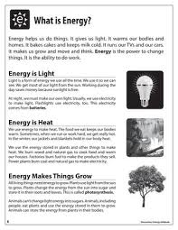 Is Light Energy Elementary Energy Infobook By Need Project Issuu