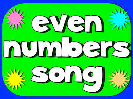 even number song youtube