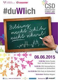 Das Wohnzimmer Wiesbaden Facebook Duwiich Christopher Street Day Am Samstag Betont Politisch Aber
