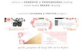 med si e social pink gold black social media templates photographer marketing