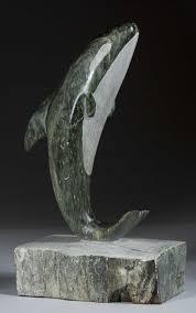 Inuit Soapstone Sculpture Soapstone Killer Whale Statue