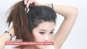 back to ponytail hairstyles for medium long hair tutorial