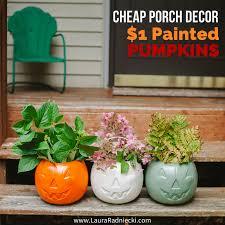 Cheap DIY Fall Porch Decor