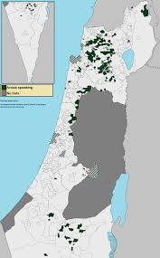 Negev Desert Map Arab Citizens Of Israel Wikipedia