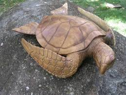 carved hawaiian turtle honu 15 l polynesian oceanic