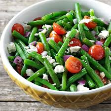green bean recipes for thanksgiving balsamic green bean salad recipe taste of home