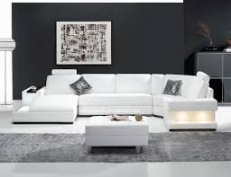 Modern Sofas Design by Trendy White Big Sofa Ideas Combined Incredible End Table Design