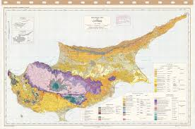 map of cyprus geological map of cyprus esdac european commission