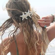starfish hair clip shop mermaid clip on wanelo