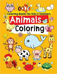 kids photo albums coloring books for kids toddlers animals coloring children