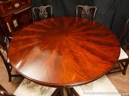 regency expandable round dining tables amazing expandable round
