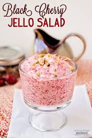 black cherry jello salad recipe scattered thoughts of a crafty