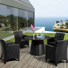 Zuo Outdoor Furniture by Dining Room Entrancing Outdoor Dining Room Decoration With Round
