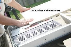 Building Kitchen Cabinet Doors how to make kitchen cabinet doors the happy housewife home
