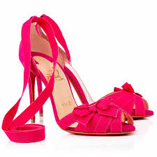 cheap christian louboutin christeriva 100mm suede sandals rosa sale
