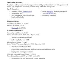 nurse resume example nurse resume nurse resume nurse free examples