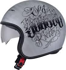 suomy motocross helmets suomy rokk old rider scratched jet helmet motoin de