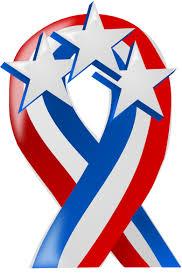 white and blue ribbon white and blue ribbon with clip at clker