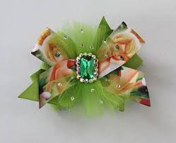 tinkerbell ribbon tinkerbell bow tinkerbell etsy and hair bow