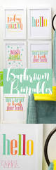 make your bathroom a happier place with these bright bathroom make your bathroom a happier place with these bright bathroom printables bright bathroomskid bathroomscolorful bathroomgirl